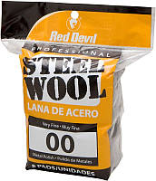 Стальная вата Red Devil Steel Wool 00 Very Fine 8 Pads (0322)