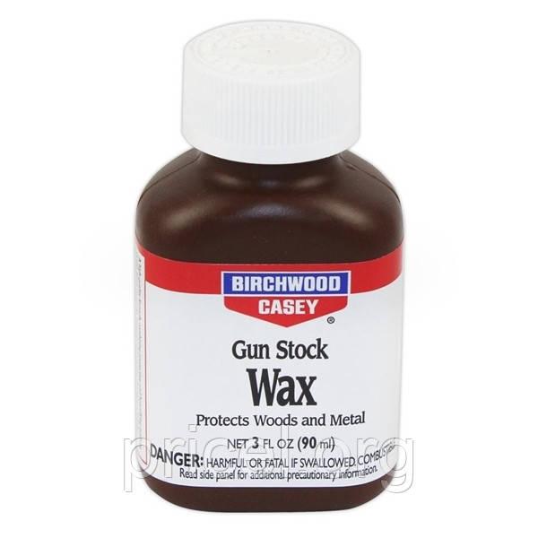Воск для деревянных частей оружия Birchwood Casey Gun Stock Wax 3 oz / 90 ml (23723)