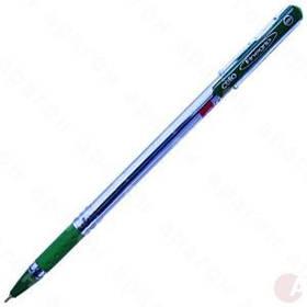 Ручка Масляная 0.5 мм Cello Finegrip зеленая.
