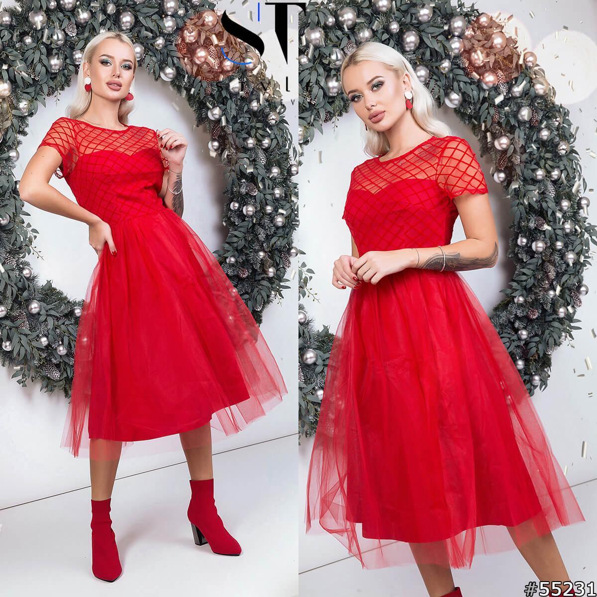 Вечернее женское платье р-р норма ST Style(55231)