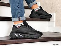 Мужские кроссовки Adidas Yeezy Boost 700 (черные)