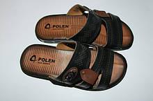 Летняя мужская обувь из экокожи.