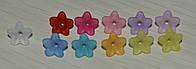 Цветочки бусины. акрил. размер 10 на 4 мм., фото 1