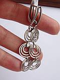 Новинка! Стильные Серебряные  серьги, фото 6