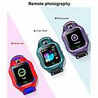 Smart Baby Watch детские умные часы Brave Q19 Dark Purple с камерой, фото 5