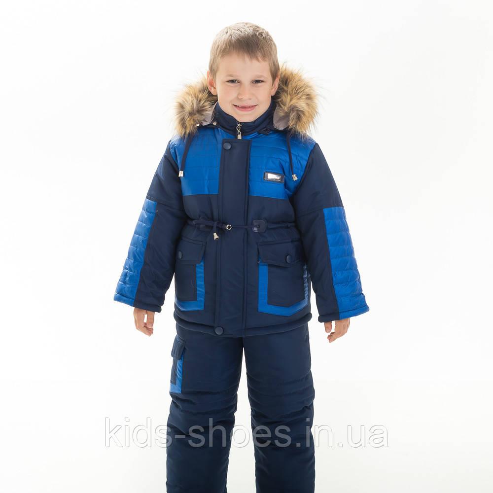 Детский Зимний Комбинезон  Иван 86-110 рост
