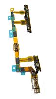 Sony D5803, D5833 Шлейф боковых кнопок в сборе с вибромотором, original (PN:1281-6827)