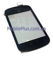 Fly IQ235 Сенсорный экран, Черный, original (PN:166100095)
