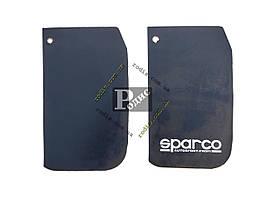 Брызговик Большой Черный  (к-кт 2 шт) SPARCO