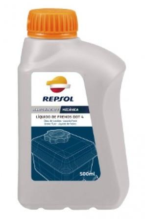 Тормозная жидкость REPSOL LIQUIDO FRENOS DOT-4, 500мл