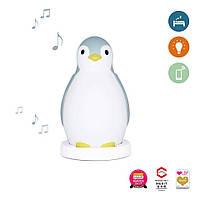 ZAZU - Светильник-ночник Пингвиненок, голубой