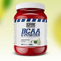 Аминокислоты UNS BCAA G-Powder 600 г Груша УНС ВСАА