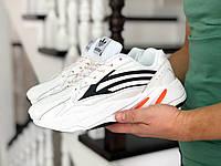 Кроссовки мужские  Adidas 8688 Белые
