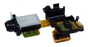 Разъем наушников Sony D6603, D6616, D6643, D6643, original (PN:1280-6835)