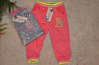 Спортивные брюки для девочек  1-5 лет