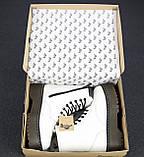 🔥 Ботинки женские Dr. Martens Jadon доктор мартинс белые зимние на меху кожаные, фото 7