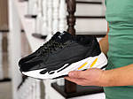 Мужские кроссовки Adidas Yeezy Boost 700 (черно-белые), фото 2
