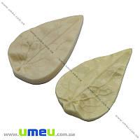 Молд Лист клематиса, 8х4,5 см, 1 набор (FOM-013371)