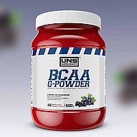 Аминокислоты UNS BCAA G-Powder 600 г Черная смородина УНС ВСАА