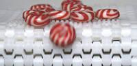 Транспортерна стрічка Habasit для транспортування цукерок