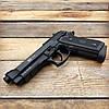 Пистолет пневматический SAS Taurus PT99 Blowback + Баллоны и шарики (металл), фото 5