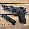 Пистолет пневматический SAS Taurus PT99 Blowback + Баллоны и шарики (металл), фото 2