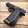 Пистолет пневматический SAS Taurus PT99 Blowback + Баллоны и шарики (металл), фото 3