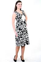 Платье женское нарядное летнее,сарафан белый коттон ,джинс , сатин, 50,52,54,56,58, пл 158.