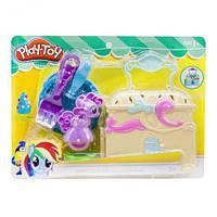 Набор  Play-Toy: Пони с чемоданчиком  (желтый)