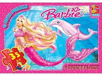 Пазлы  Barbie: русалочка , 35 эл
