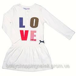 Платье трикотажное Naf Naf, NNRH2013-white, 9-10 лет (132-138 см), 9-10 лет