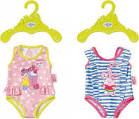 Купальник для куклы Беби Борн (2 расцветки)- Люблю купаться - Baby Born, Zapf Creation 3+ (824580)