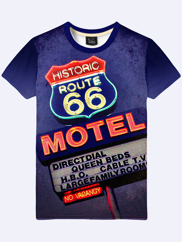 Футболка Route 66 Motel