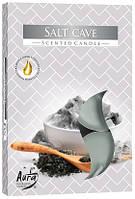 Свеча чайная ароматизированная Bispol Соляная пещера 1.5 см 6 шт (p15-313)
