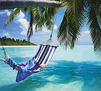 Набір-стандарт картина за номерами Райський острів, фото 1