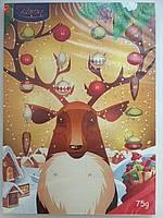 Шоколадный адвент календарь   Baron Польша 75г