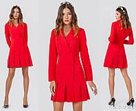 Стильное платье-пиджак