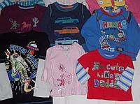 Детские футболки длинный рукав секонд хенд оптом, 1 сорт