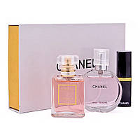 """Купить подарочный набор """"Chanel"""": парфюм + косметика 3 в 1. Цена ..."""