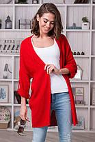 Красивый женский вязанный кардиган 44-54 размеры, фото 2