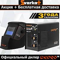 Сварочный инвертор Dnipro-M SAB-258N + Хамелеон WM-39 В ПОДАРОК . ( Аппарат Днипро-М САБ-258Н )