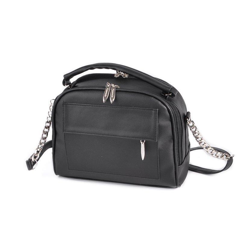 Женская черная сумка код 25-202