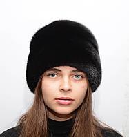 Норковая цельная шапка женская Конфетка, фото 1