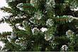 Ель искусственная Анастасия 1,2 м  + тренога (голубая, с белыми кончиками, зеленая), фото 2