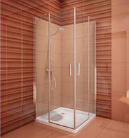 Душевая дверь Koller Pool Tower Line TDO1/900 профиль хром, стекло прозрачное, фото 1