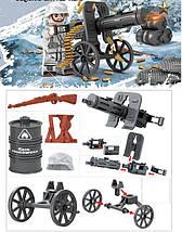 Военные фигурки,Германская армия Зима, World of War II военный конструктор, аналог лего, BrickArms, фото 3