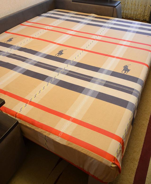 Простынь на резинке 180х200 см «Polo» in Luxury™ арт.32045