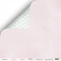 Лист двусторонней бумаги 30x30 от Scrapmir Нежность из коллекции Little Bunny