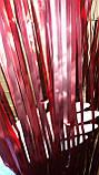 Матовый красный дождик для фотозоны (высота 3 метра, ширина 1метр), фото 4