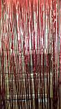 Матовый красный дождик для фотозоны (высота 3 метра, ширина 1метр), фото 6